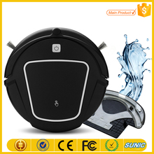 2017 App wifi control anti-fall robot vacuum cleaner 0.3L dust capacity