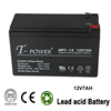 Free Maintenance High performance 12 Volt 7 Amp Hour Sealed Lead Acid Battery