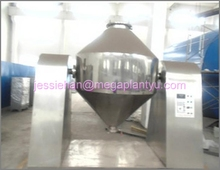 mixing drying double cone rotary vacuum dryer machine for drying and mixing chemical powder
