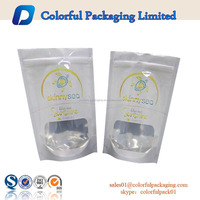 food grade aluminum foil resealable packaging bags printing with logo