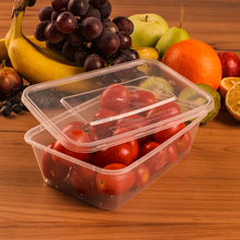 takeaway food container disposable 750ml / 500ml - 1000ml takeaway food container plastic