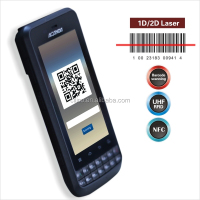 IP65 android 1D laser barcode scanner pda with Wifi,3G,rfid reader (IP65,4000mAh battery)