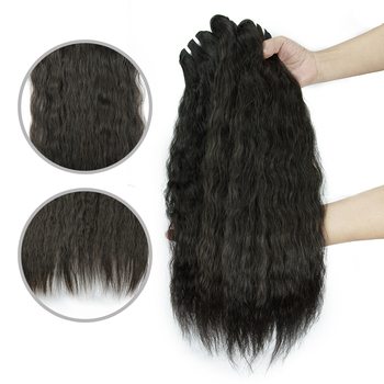Factory Price Hot Selling Raw Unprocessed Double Drawn Human Hair Extension