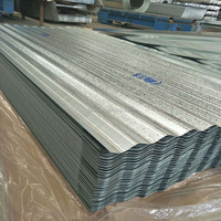 Hot Dipped Galvanized Corrugated Steel / Iron Roofing Sheets Metal Sheets