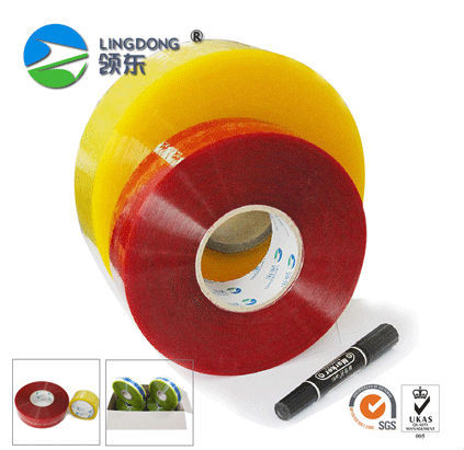 China manufacture Acrylic bopp adhesive packaging tape