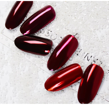 Nail Polish Manufacture Private Label Metal Chrome Mirror Effect Metallic glaze red uv led gel polish