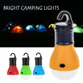 Portable Multifunction 3 LED Lantern Light Emergency Waterproof Outdoor Hanging Lighting Plastic Camping Light