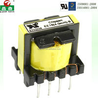 UL approved transformer EE13 100uH 120V to 24V isolation transformer