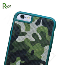 High Quality Army Camouflage Hybrid Cover TPU + PC Phone Case For iPhone 6