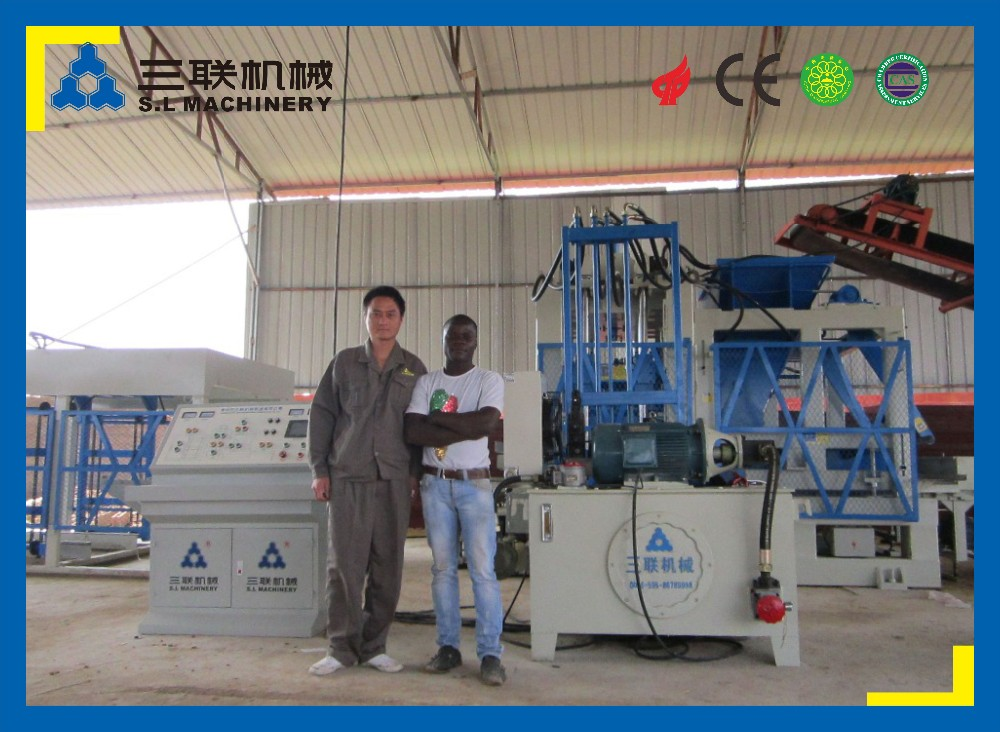 fly ash hydraform cement brick block making machine in india price