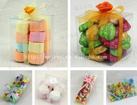 clear plastic tubes for candy ,clear plastic bags, clear plastic boxes for candy