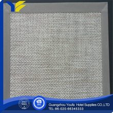 waterproof china wholesale fabric custom printed commercial placemats