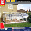 New Technology Product Exterior Tempered Glass Garden House