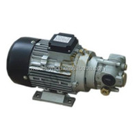 Electric gear oil pump for oil and lubricants