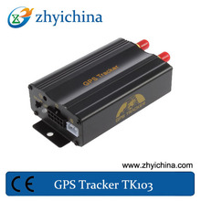 alibaba express.com Built in U-Blox GSM (4 Band) & GPS module Can send SOS or alarm GPS vehicle / car / truck tracker TK103