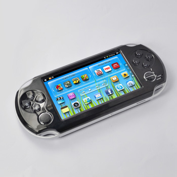 2014 New 4.3inch smart game comsole free download portable mp5 4gb player AS-926