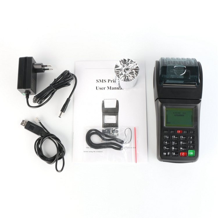 Handheld Food Order GPRS SMS Printer Wireless Printer