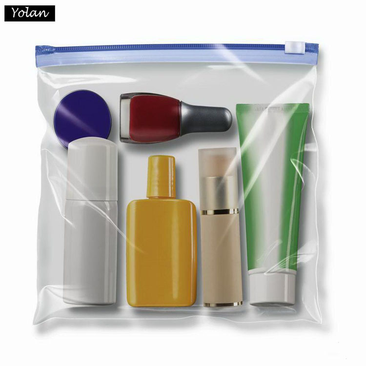 Transparent PVC bag with Zipper , PVC makeup bag