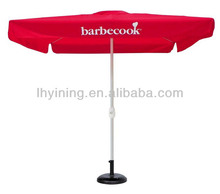 10feet patio bistro advert parasol