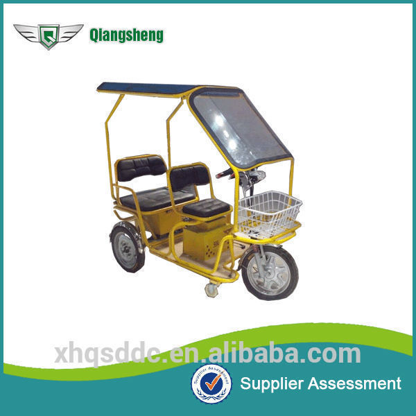 china reliable manufacturer passenger electric tricycle with low price