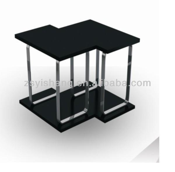 Retail store coffee table fish tank for sale with yishang china supplier