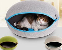 Portable Dog Hut Luxury Pet Dog House Cozy Warm Great Indoor-Outdoor Pet Bed House for Dogs, Cats