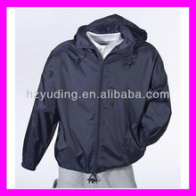 Polyester/nylon waterproof adult 190t nylon fabric rain suits