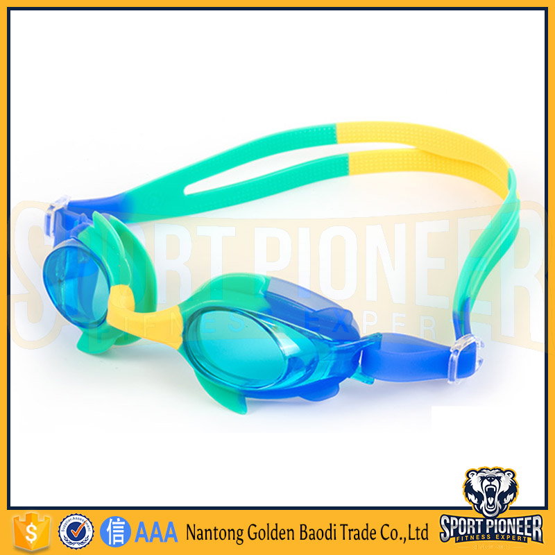 Clear Vision Anti Fog UV Protection Kids Child Swim Goggles