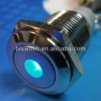 DOT , RING LED push button switch waterproof passed CE, ROHS, IP67 certification
