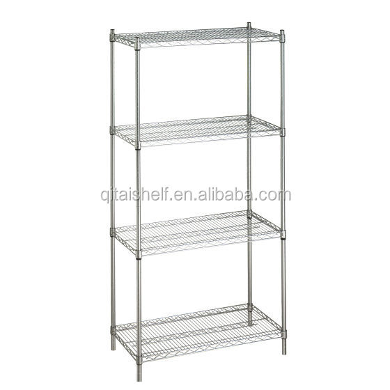 NSF & ISO approved adjustable steel wire shelving for closet