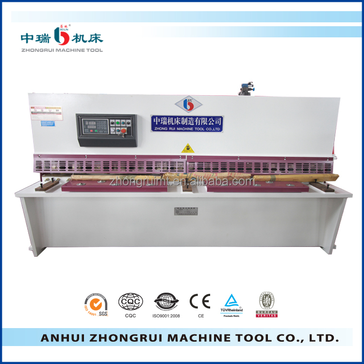 cnc metal iron alloys hydraulic shearing machine, cnc stainless steel plate shear, new fabrication machinery