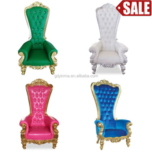 High back queen and throne chair for sale