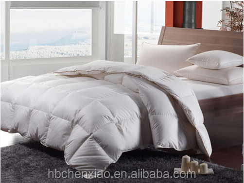 Luxury micrifiber quilt down alternative comforter with down fiber filling