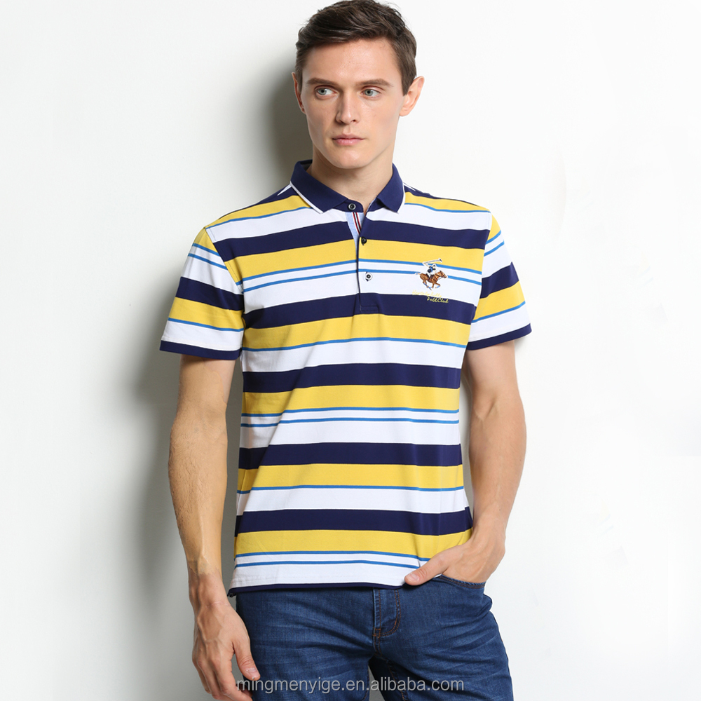 Wholesale Knitted Bangladesh Custom Polo T-Shirts