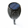 Waterproof Dancing Flame Light Controlled Solar Panel Torch Lamp for Garden