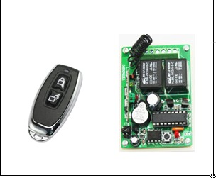 on/off Remote Switch Learning Code, 2 channel ON/OFF Wireless Remote Control Relay Switch