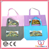 ICTI Factory eco friendly simply designed cheap food non woven shopping bags