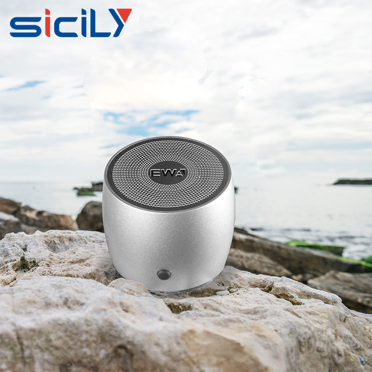 latest sales portable bluetooth mini metal speaker kit for guest gifts