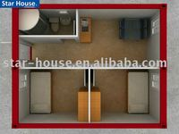 (China Manufacturer)Low cost container house made in china luxury container house design