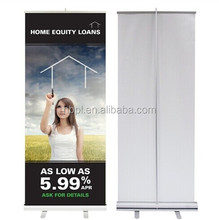 Foldable advertising pull up banner, banner display stand,rollup standee