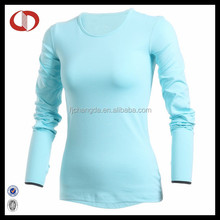 Long sleeve sublimation compression shirt for girls
