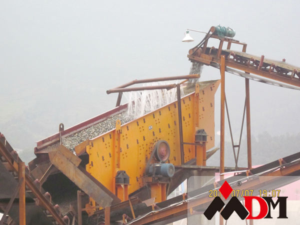 Best quality vibration screening plant manufacturer in Shanghai