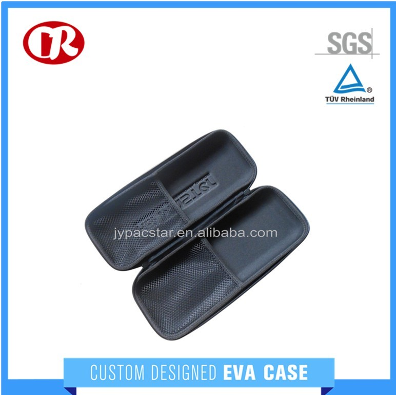 Eco-friendly material packing bag fixed grid eva tool case with eva foam