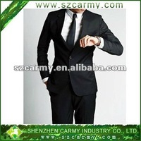 2014 Men's 30%wool, 70%polyester single breasted business formal suit with 2~3 buttons
