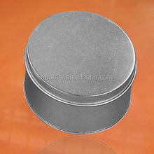 S0951 wholesale grey custom made gift boxes,round candy/chocolate gift box metal tin box