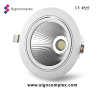 alibaba factory manufacture COB 6 inch 25W led downlight light