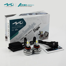 40w 3600lm car led headlight bulbs H11driving light with canbus than hid kit from American Sema Show and Canton fair