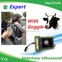 Farmer outdoor environment use animal/vet/veterinary ultrasound machine/scanner/equipment/device: Cow,pig,dog,equine, sheep etc.