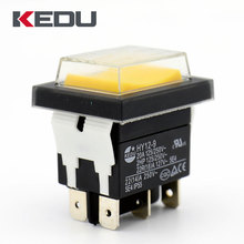 KEDU Fatory Supply 3 position on off on momentary rocker switch with UL TUV CE Approval HY12-9-5