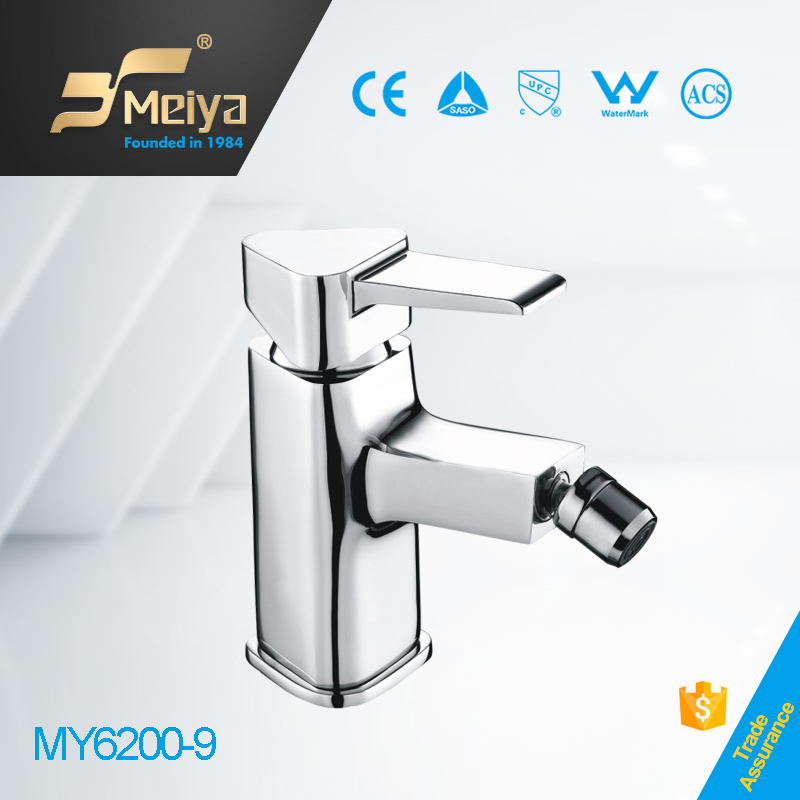 China zhejiang MEIYA 1 hole bathroom brass toliet faucet water bidet